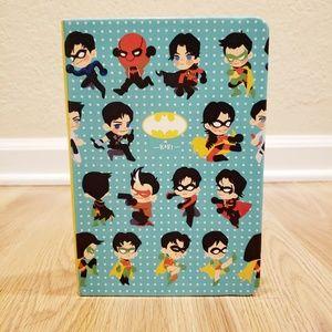 Kohi Dot Grid Notebook - Chibi DC Heroes